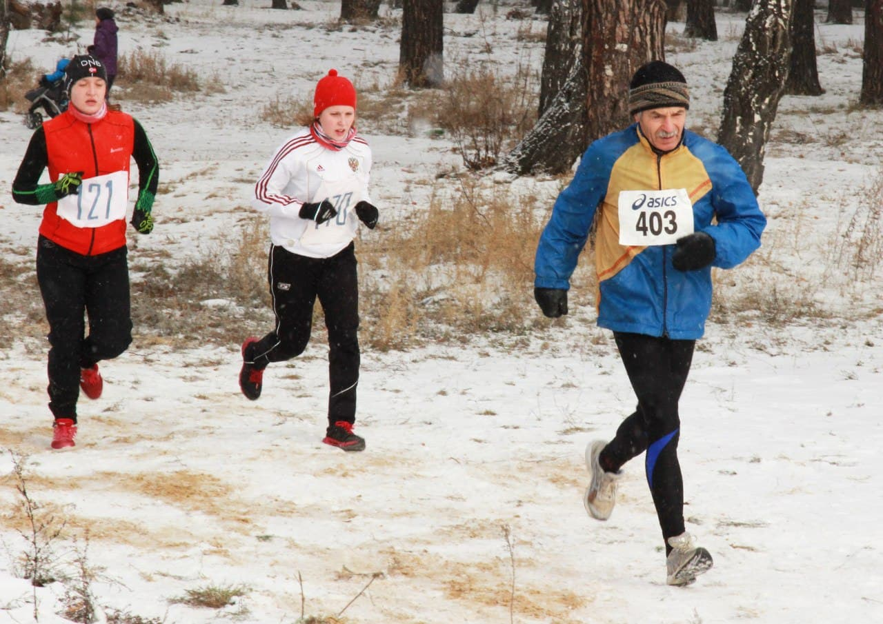 Ryabkovskogo cross-country run for the prizes S. V. Serenkov photo