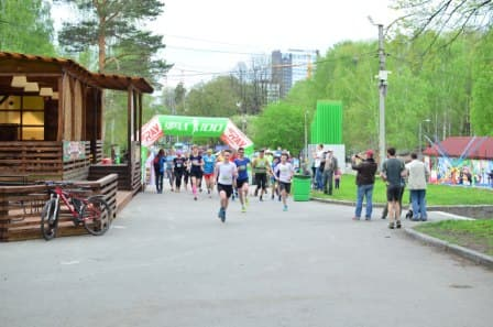 Family starts KLB Ural-100 for the prizes of the Department of physical culture of the October district photo