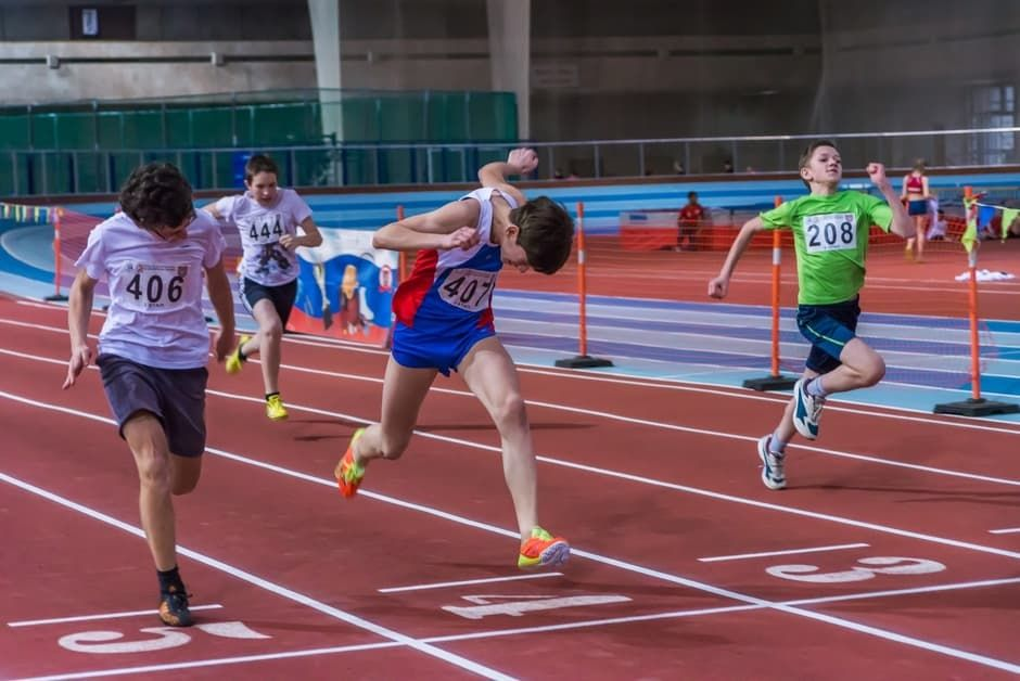 "Cup Sri Chinmoy athletics indoor ""self-surmounting"" photo"