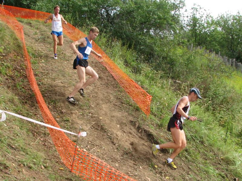 Open championship of St. Petersburg in mountain running