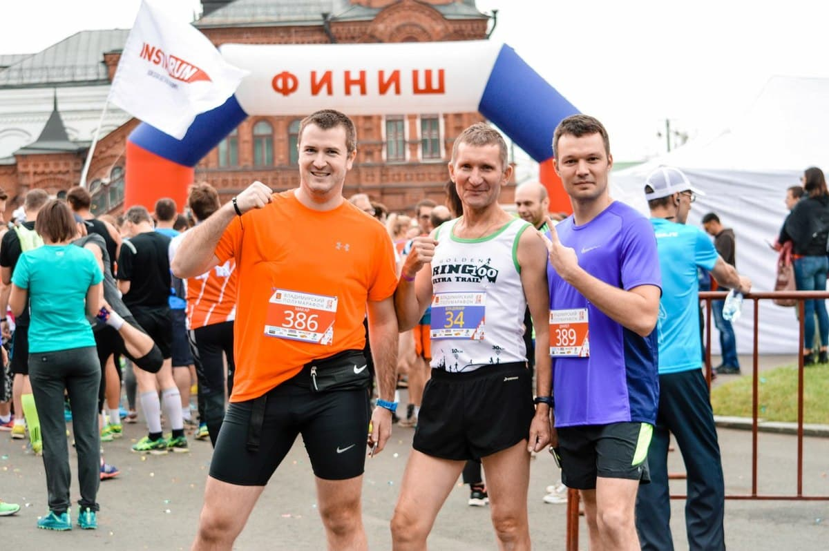 "Vladimir half marathon ""Golden gate"" photo"