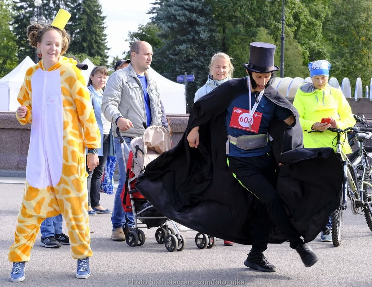Charity run IDA, Pushkin photo