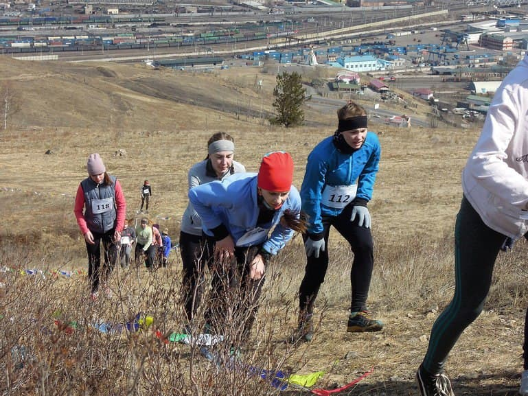 The championship and championship of Siberian and far Eastern Federal districts in mountain running photo